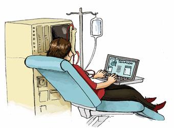Comment passer le temps en dialyse ?