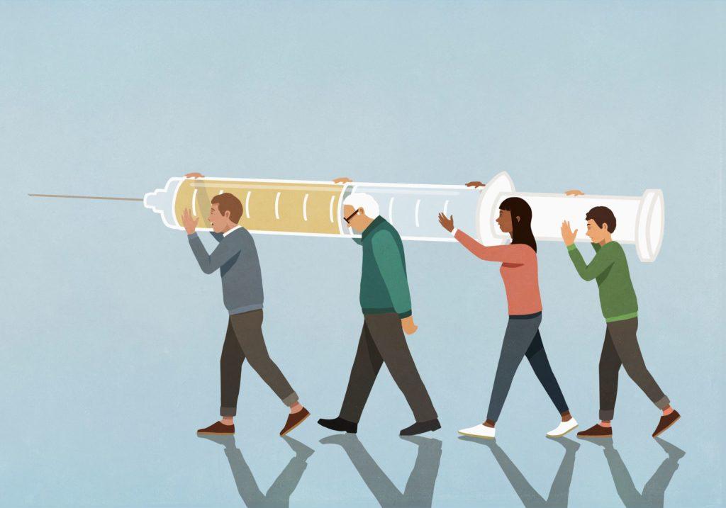 Efficacité diminuée du vaccin : 1ères infos de la vraie vie pour les patients dialysés et greffés